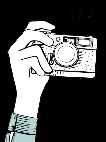 カメラマン腕