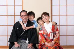 スタジオフォトウェディング, 和装スタジオ撮影, 洋装スタジオ撮影, 埼玉前撮り, 家族と一緒に撮影,